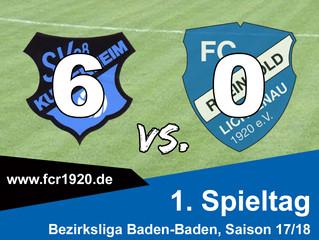SV 08 Kuppenheim 2 : FC Rheingold Lichtenau 6:0 (4:0)