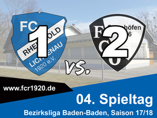 FC Rheingold Lichtenau : FC Ottenhöfen 1:2 (0:1)