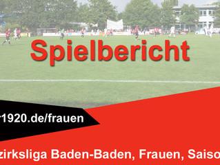 SG Vimbuch / Lichtenau II : SG Bühlertal/Neuweier  0:4 (0:1)
