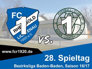 FC Rheingold Lichtenau : FC Lichtental 1:1 (1:0)
