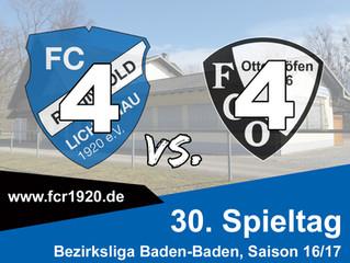FC Rheingold Lichtenau : FC Ottenhöfen 4:4 (2:2)