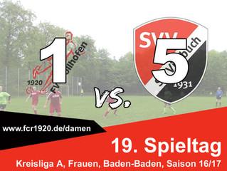 FV Stollhofen : SG Vimbuch / Lichtenau II 1:5 (0:1)