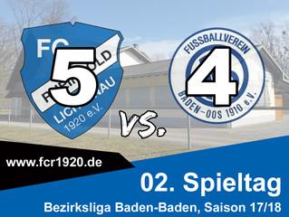 FC Rheingold Lichtenau : FV Baden-Oos 5:4 (1:2)