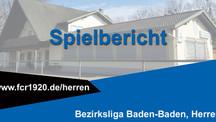 FC Rheingold Lichtenau – FV Baden Oos 4:3 (1:3)