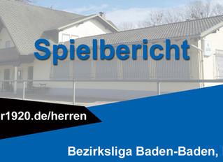 VfR Bischweier - FC Rheingold Lichtenau 2:1 (1:1)