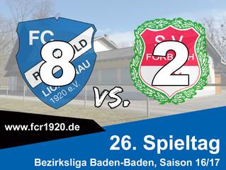 FC Rheingold Lichtenau : SV Forbach 8:2 (6:2)