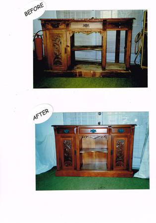 kauri dresser