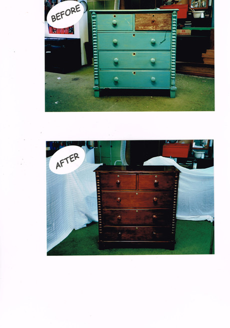 kauri chest of drawers