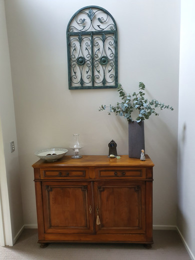 french elm dresser