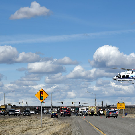 Crash near Hwy. 93 and I-84 junction