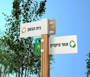 Park Signs (collaboration with Hadas Tadmor and Yuval Tal)