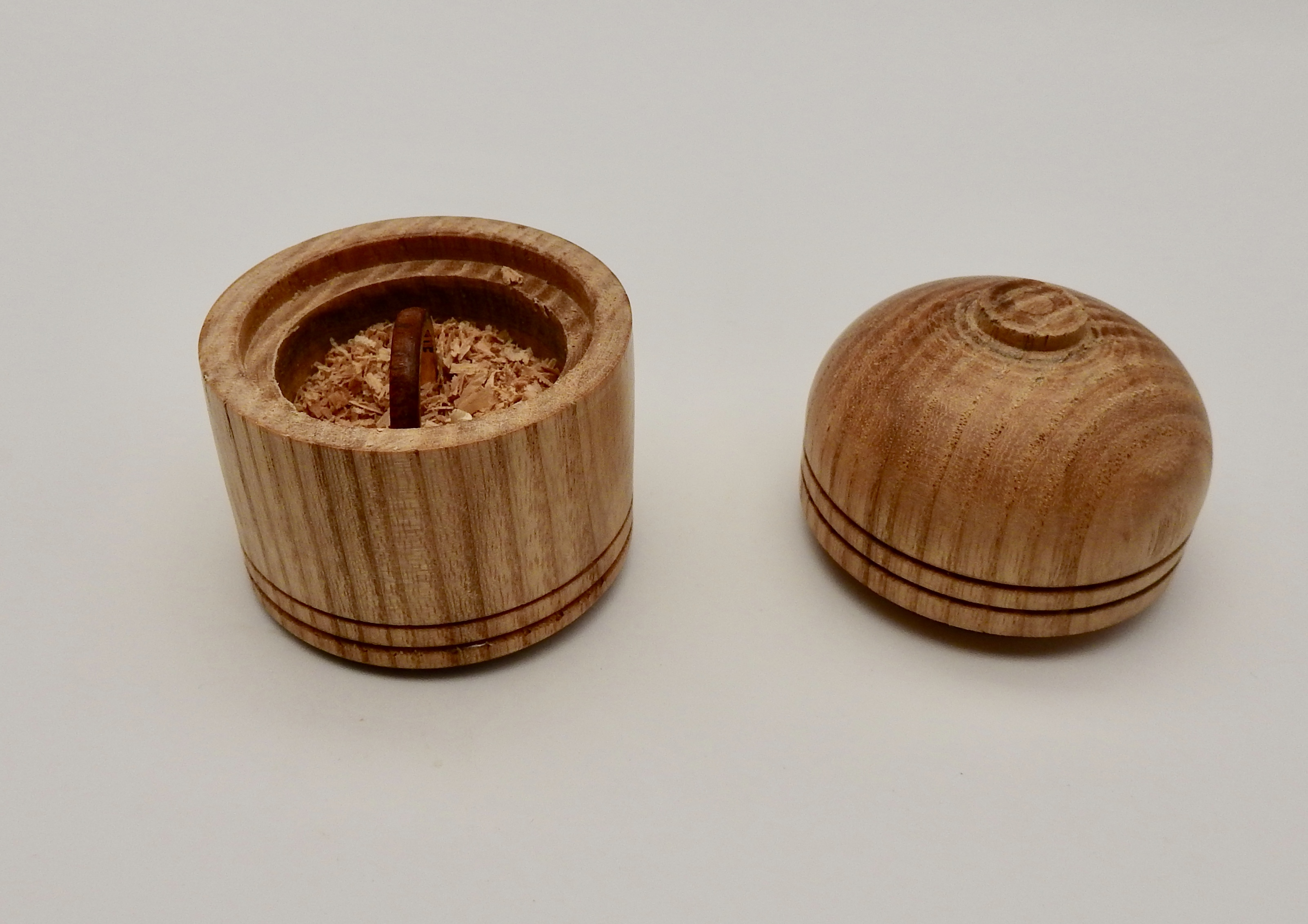 Wooden Box for Ring