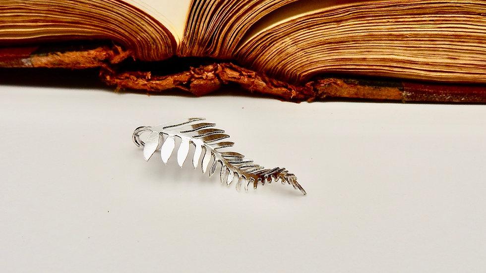 Sterling Silver Fern Pendant