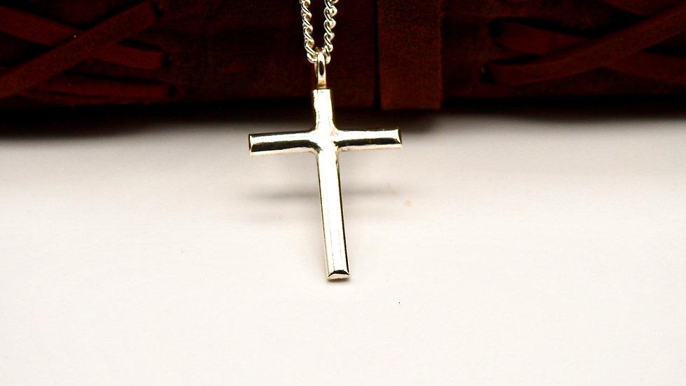 Sterling Silver Handmade Cross