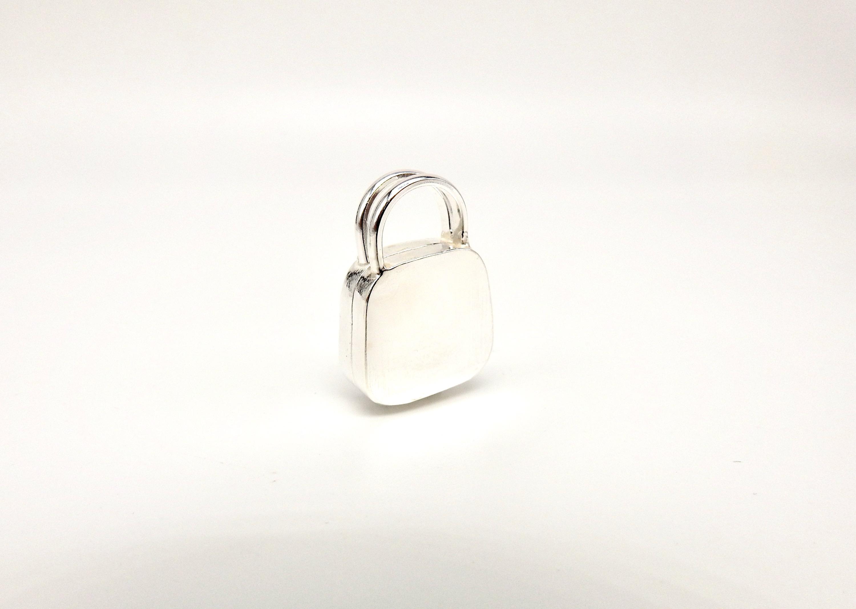Personalise handbag pendant