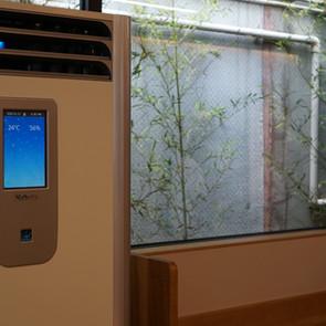 最新の空気清浄機