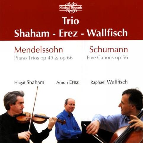 Mendelssohn: Trios / Schumann: Canons