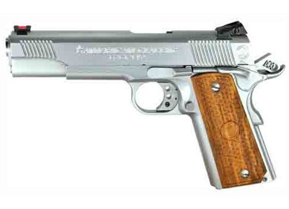 AMERICAN CLASSIC COMMANDER .45ACP ADJ CHROME WOOD 8-SHOT