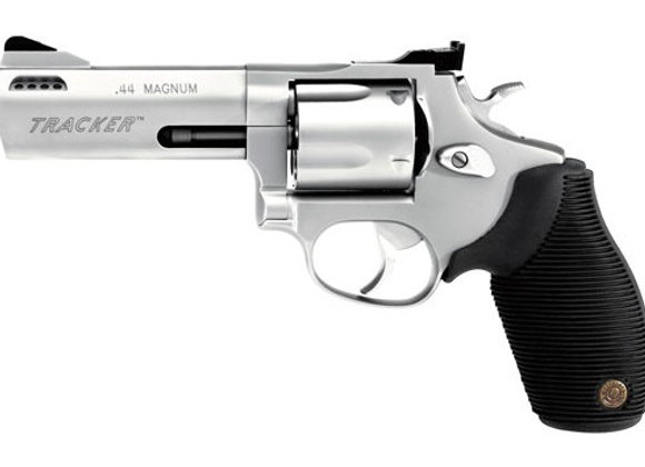 """TAURUS TRACKER .44MAG 4"""" 5-SH AS PORTED SS RUBBER"""