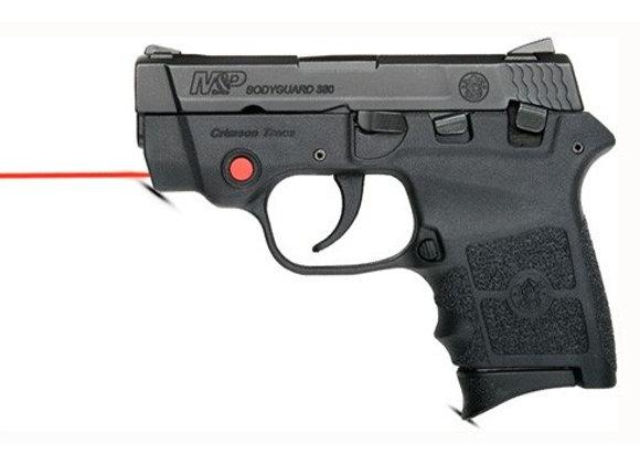 """S&W BODYGUARD .380ACP 2.75"""" FS 6-SHOT W/CTC LASER BLACK POLY"""