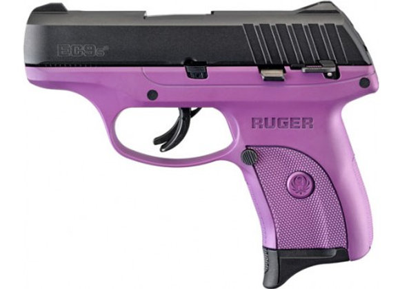 RUGER EC9s 9MM LUGER AS 7-SHOT BLACK SLIDE/PURPLE FRAME (TALO