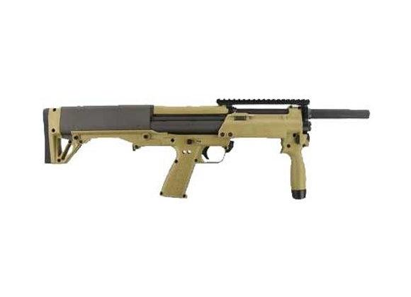 "KEL-TEC KSG-NR SHOTGUN 12GA. 3"" 8-SHOT 18.5"" CYL. TAN/BLACK"
