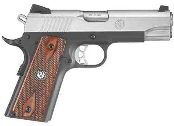 RUGER SR1911 .45ACP FS 7-SHOT LIGHTWEIGHT COMMANDER 2-TONE *