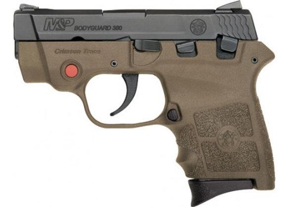 "S&W BODYGUARD .380ACP 2.75"" FS 6-SHOT W/CTC LASER FDE POLY"
