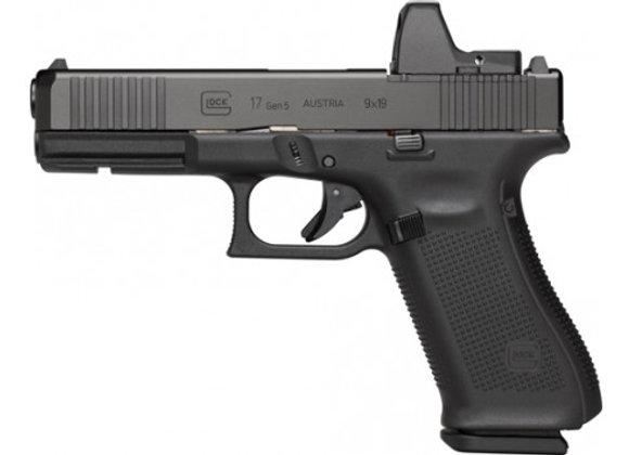 GLOCK 17 9MM GEN5 FIXED SIGHT 10-SHOT W/FRONT SERATIONS