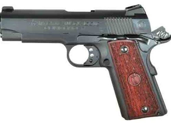 AMERICAN CLASSIC COMMANDER .45ACP ADJ BLUE WOOD 8-SHOT