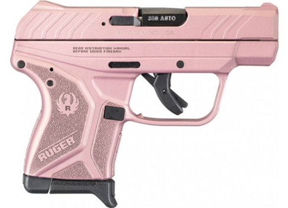 RUGER LCP II .380ACP 6-SHOT FS ROSE GOLD SYNTHETIC (TALO)