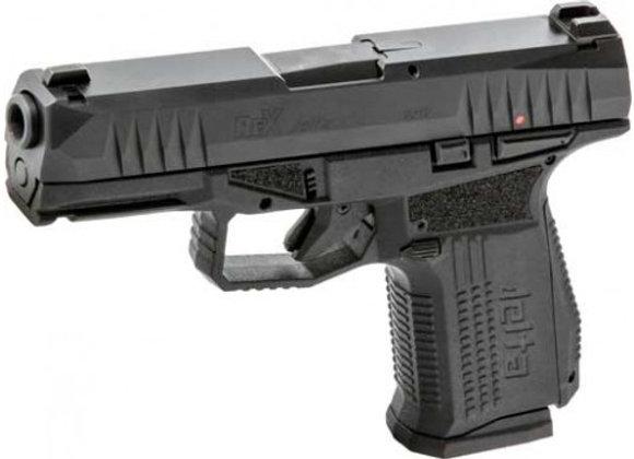 AREX REX DELTA 9MM PISTOL FS 1-15 & 1-17 RD MAG BLACK