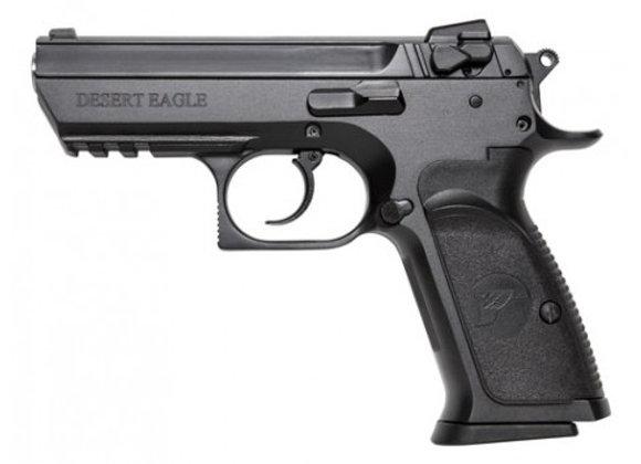 DESERT EAGLE BABY III MIDSIZE .40S&W 12RD. BLACK W/RAIL