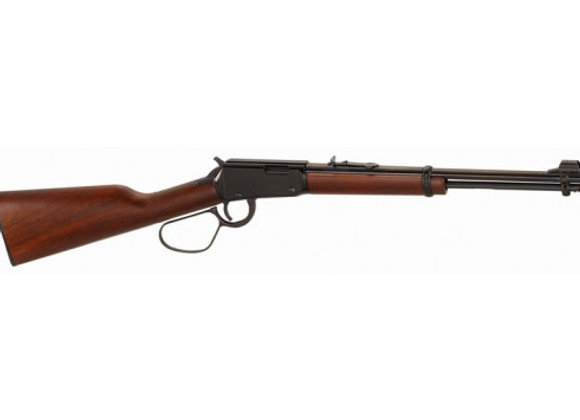 "HENRY CLASSIC CARBINE 22S/L/LR 16"" LARGE LOOP BLUED WALNUT"