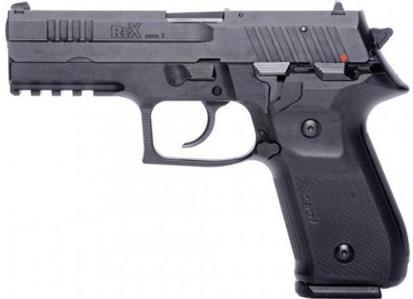 AREX REX ZERO 1S 9MM PISTOL FS 2-17RD MAGS BLACK POLYMER