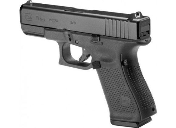 GLOCK 19 GEN5 9MM LUGER FS 15-SHOT BLACK