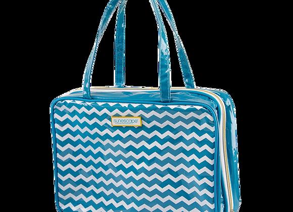 Chevron Cosmetic Bag