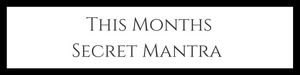 Secret Mantra