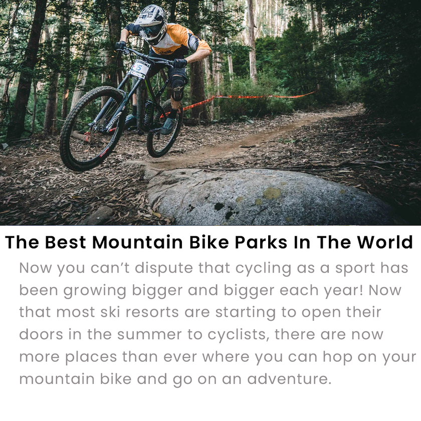 Best MTB Parks In The World