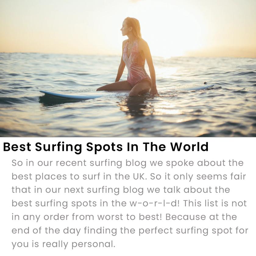 World's Best Surfing Spots