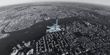 Bird's Eye Urban View