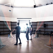 Animated Hyperspace: Sound-Architecture Installation