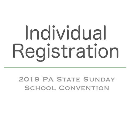 Individual Registration