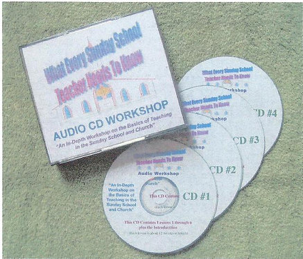 """What Every Sunday School Teacher Needs To Know"" 4 CD Set"