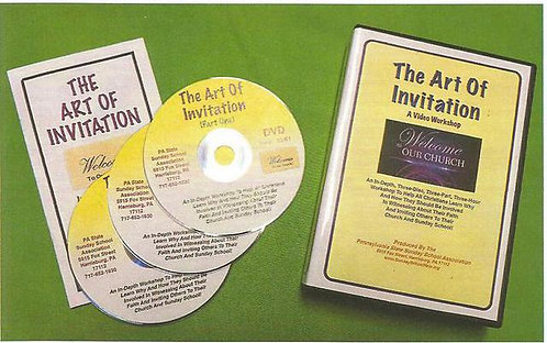 """The Art of Invitation"" DVD Kit"