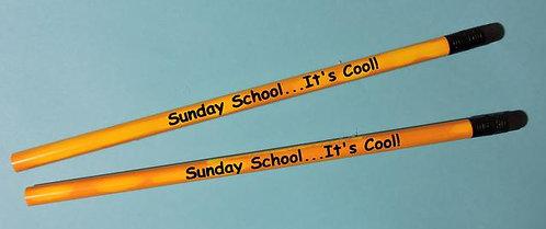 """Sunday School…It's Cool"" Mood Pencil"