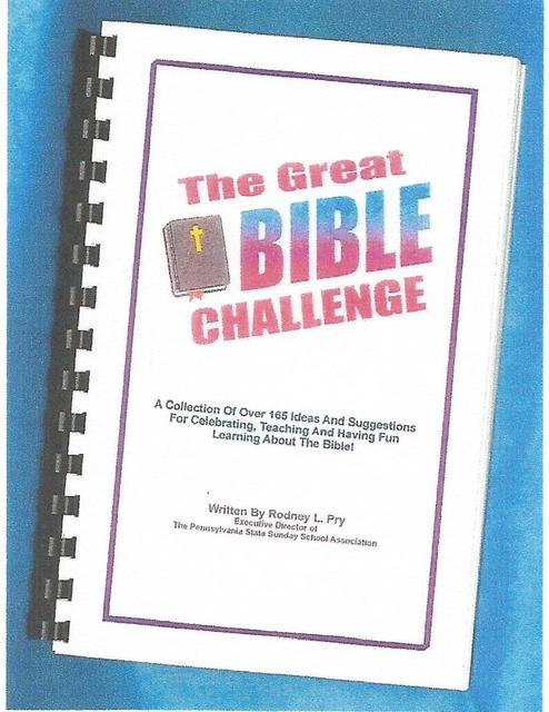 """""""The Great Bible Challenge"""" Book"""