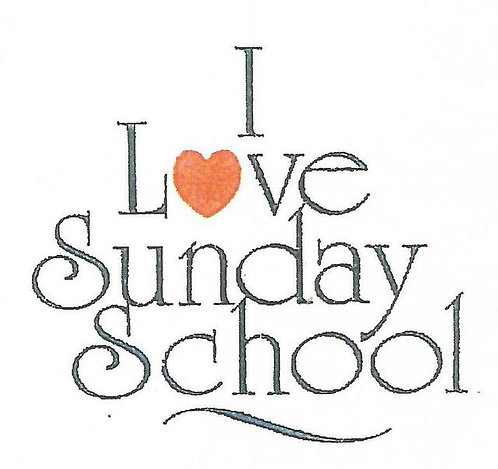 """I Love Sunday School"" Promotional Program"