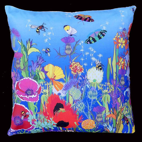 Scottish summer cushion