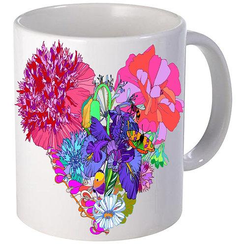 Flower Hart mug